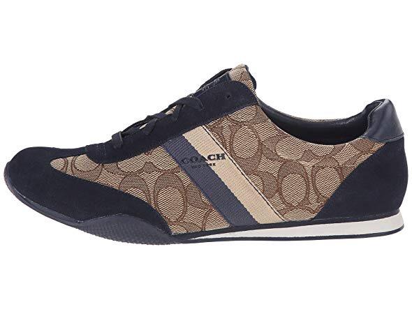 COACH Kelson Outline Sneaker (Khaki