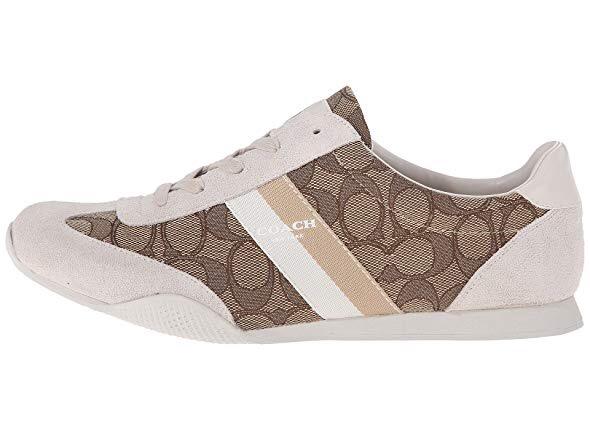 COACH Kelson Outline Sneaker khaki